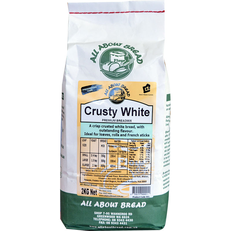 All About Bread Crusty White 2kg