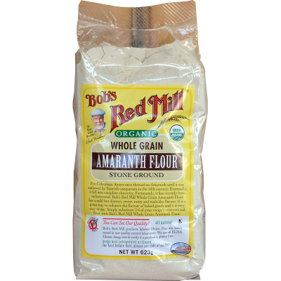 Bobs Red Mill Organic Whole Grain Amaranth Flour