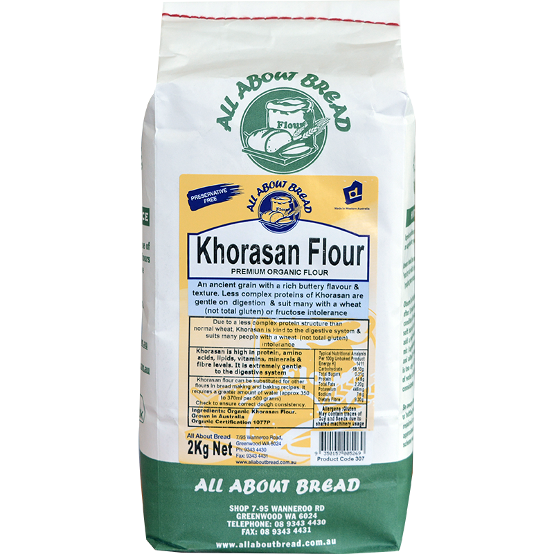 all about bread khorasan flour 2kg the rusticana. Black Bedroom Furniture Sets. Home Design Ideas